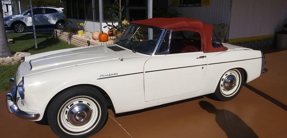 1966 datsun fairlady 1600 roadster