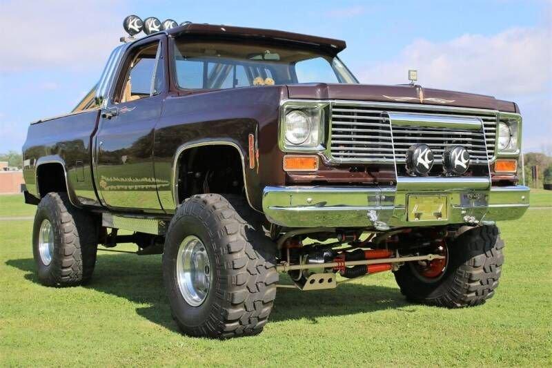 1977 chevrolet c k 10 series 4x4 pickup