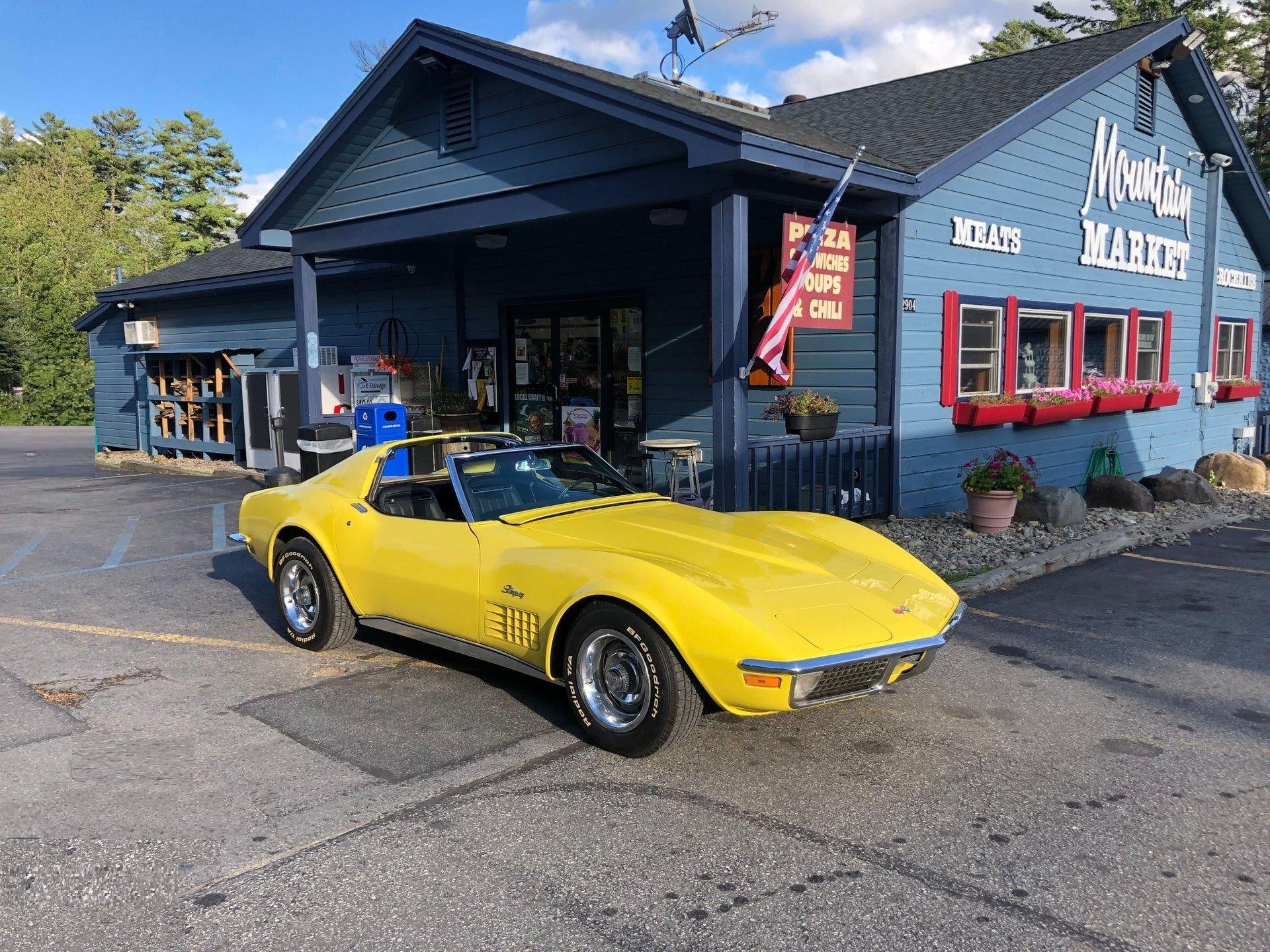 1970 chevrolet corvette t top coupe