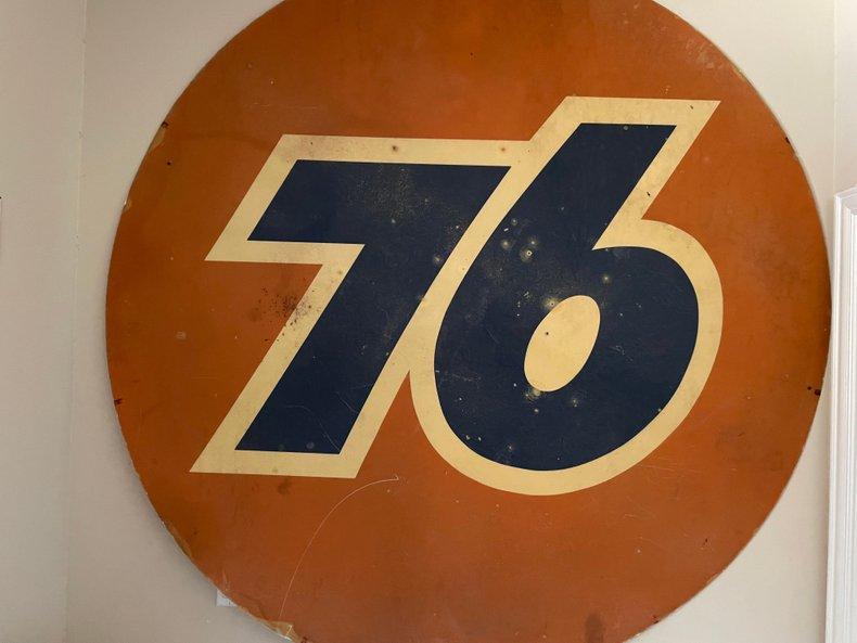 Union 76 Fiberglass Sign
