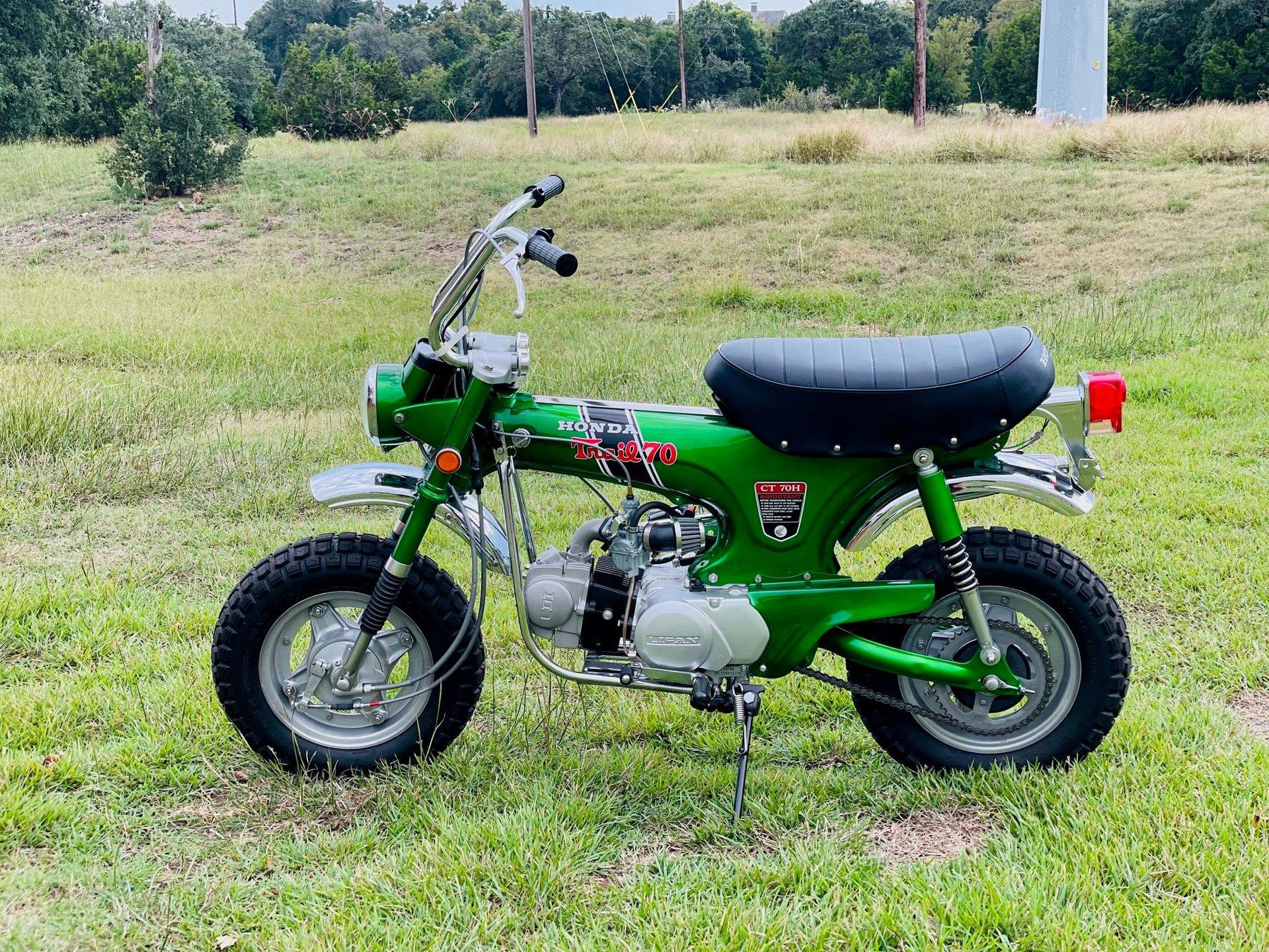 1971 honda ct 70h minibike