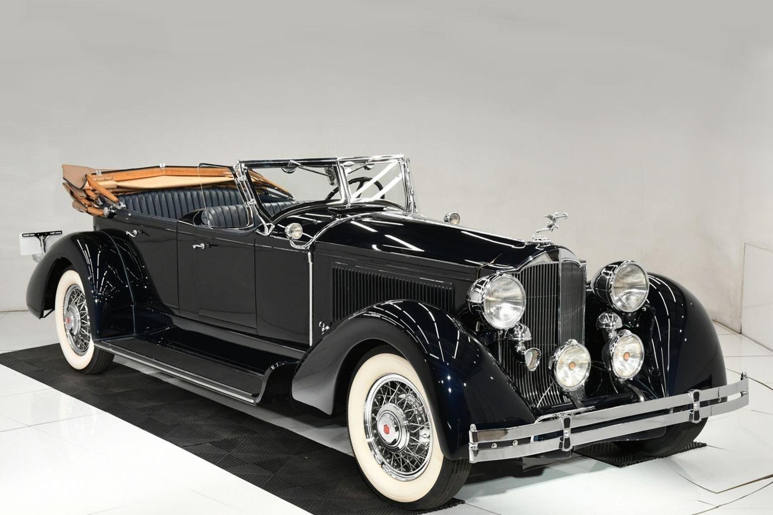 1930 packard phaeton lebaron convertible