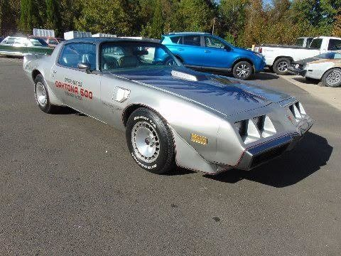 1979 pontiac trans am pace car