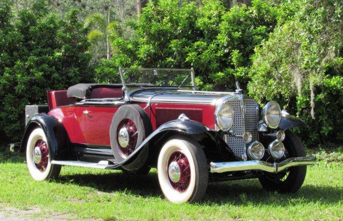 1931 studebaker president four seasons roadster