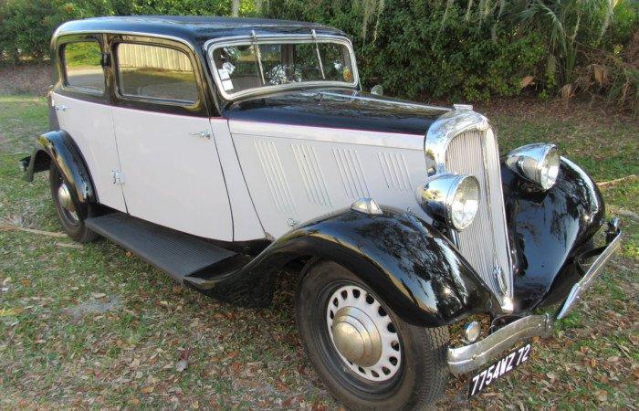 1934 delahaye model 134 sedan