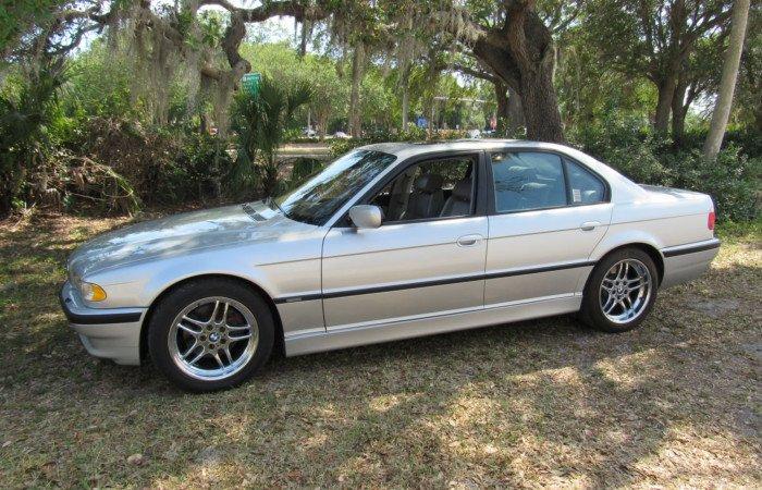 2001 bmw 740i sedan