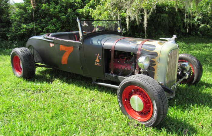 1929 ford rat rod roadster