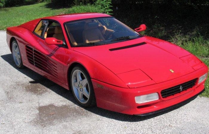 1992 ferrari 512 tr coupe