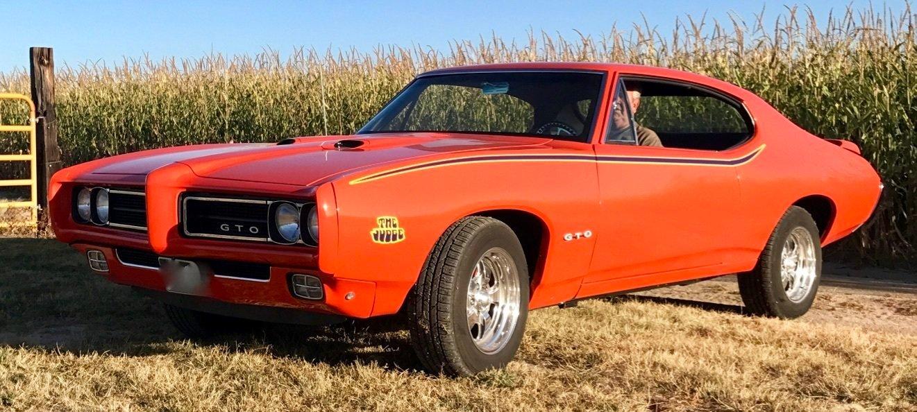 1968 pontiac gto restomod coupe