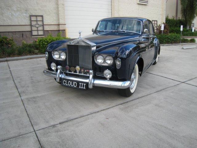 1965 rolls royce silver cloud iii saloon