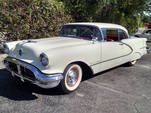 1956 oldsmobile 98 holiday hardtop