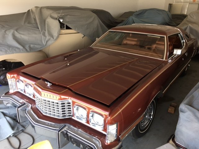 1975 ford thunderbird copper edit hardtop