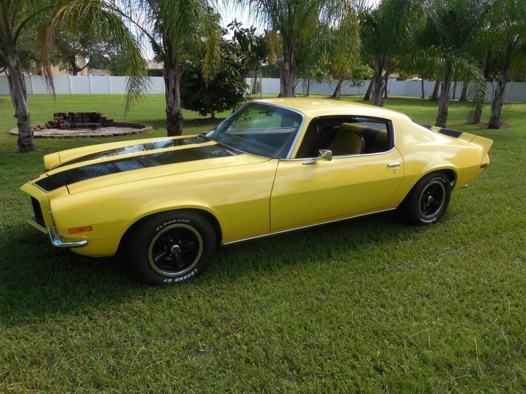 1972 chevrolet camaro rs coupe