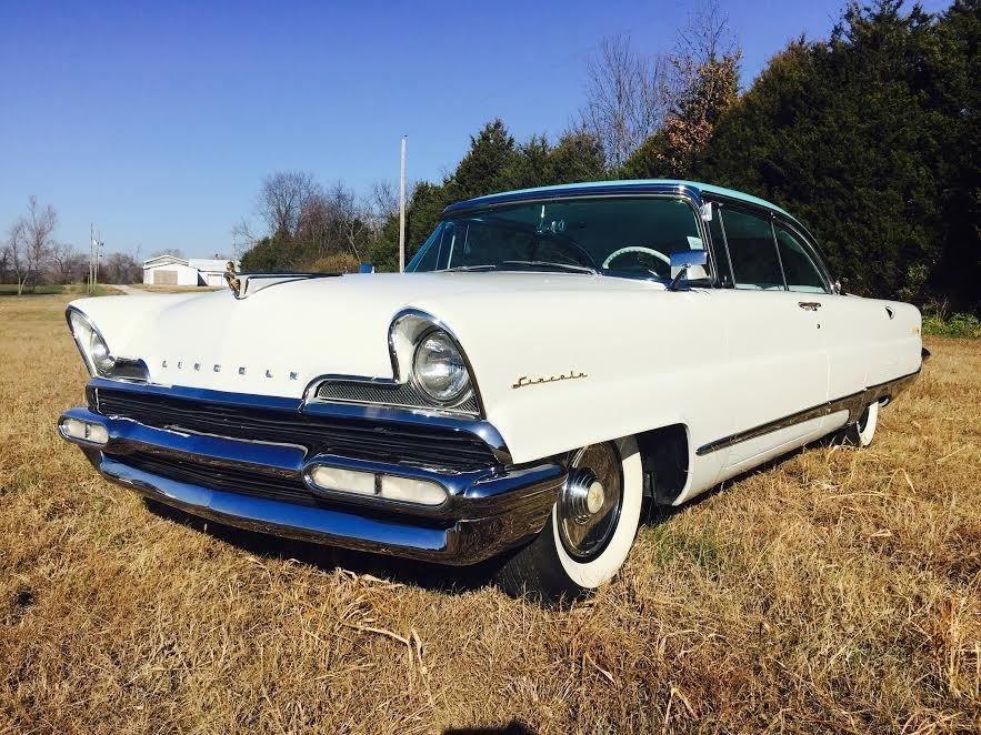 1956 lincoln premier 2 door hardtop