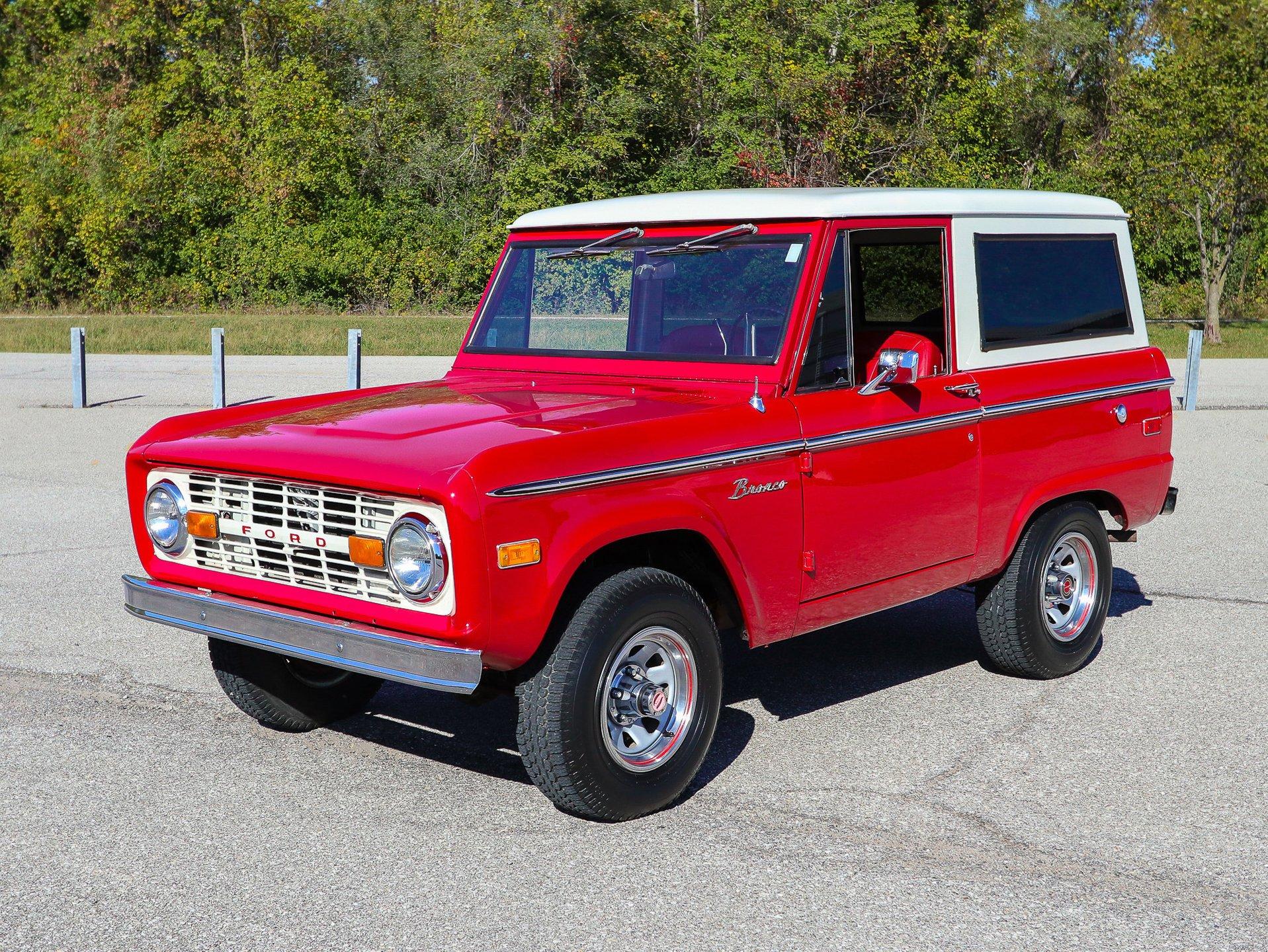 1973 ford bronco 4 x 4