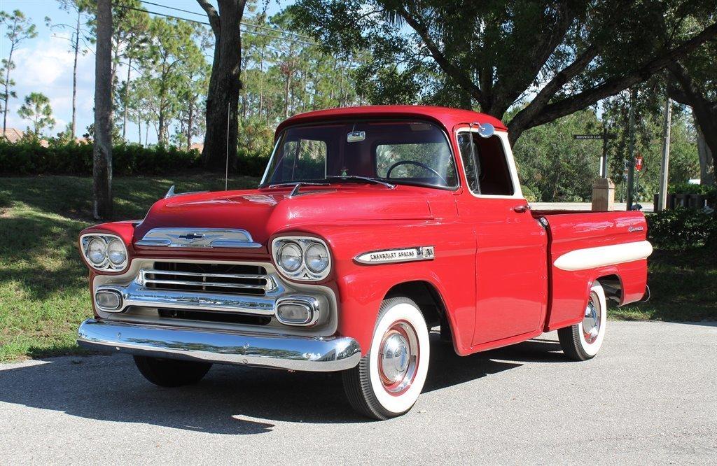 1959 chevrolet 3100 apache pickup