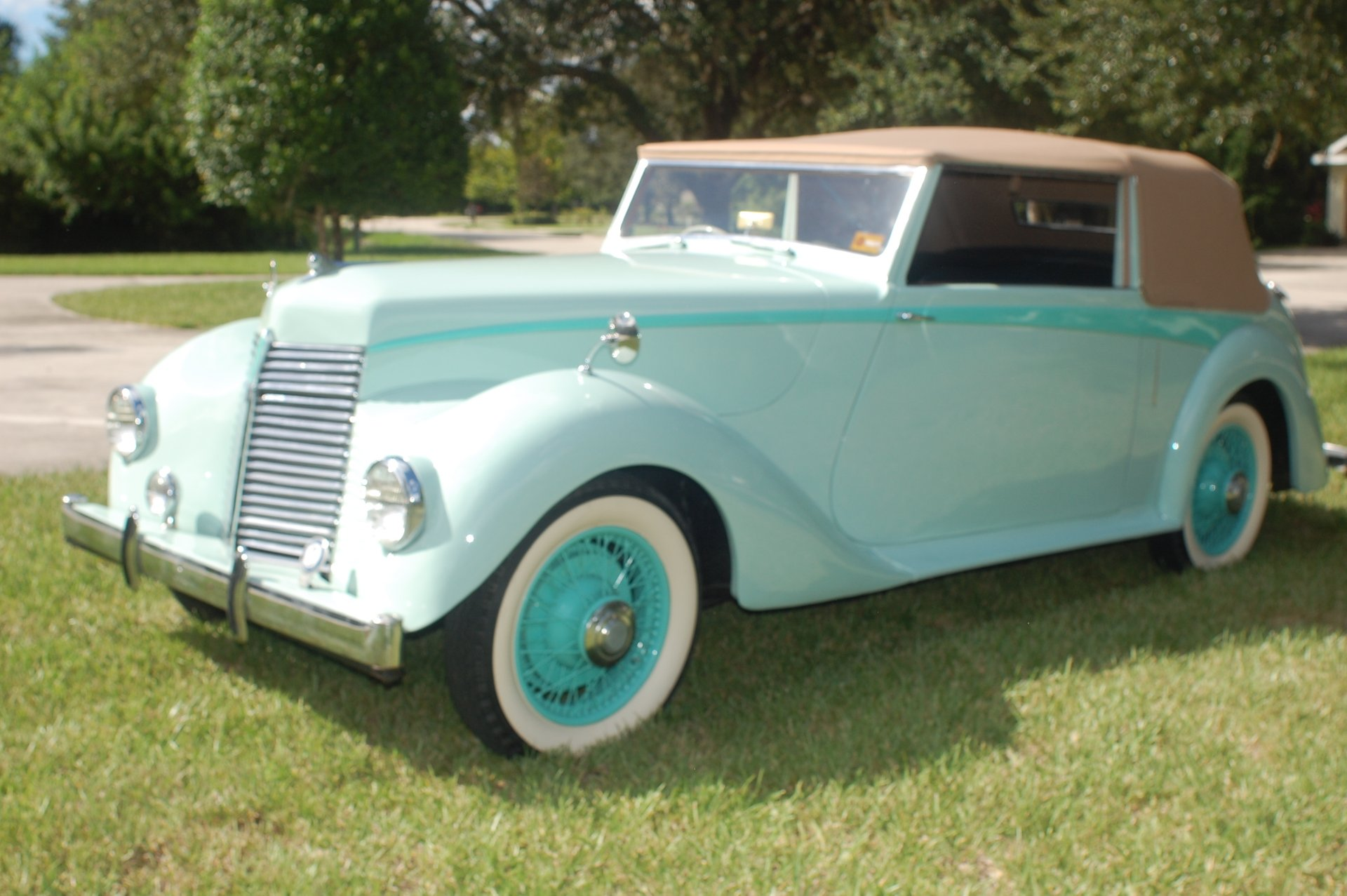 1947 armstrong siddeley hurricane convertible