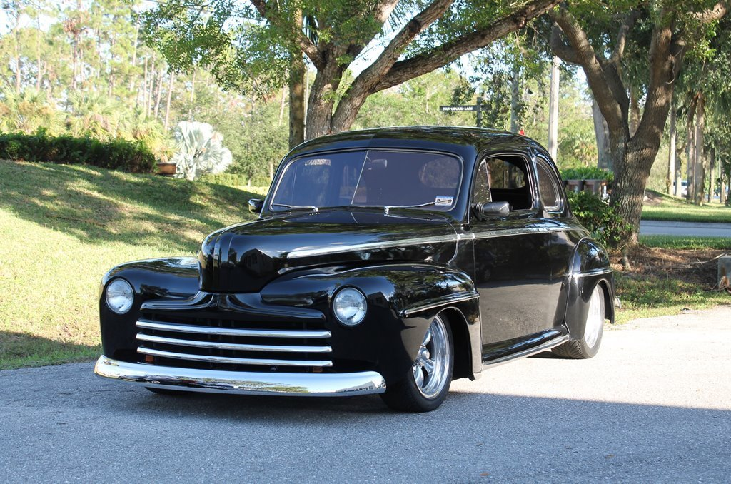 1947 ford street rod coupe