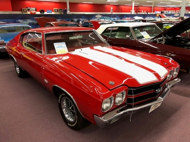 1970 chevrolet chevelle ss coupe