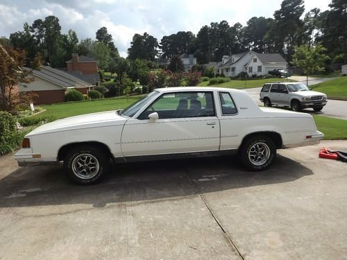1987 Oldsmobile Cutlass
