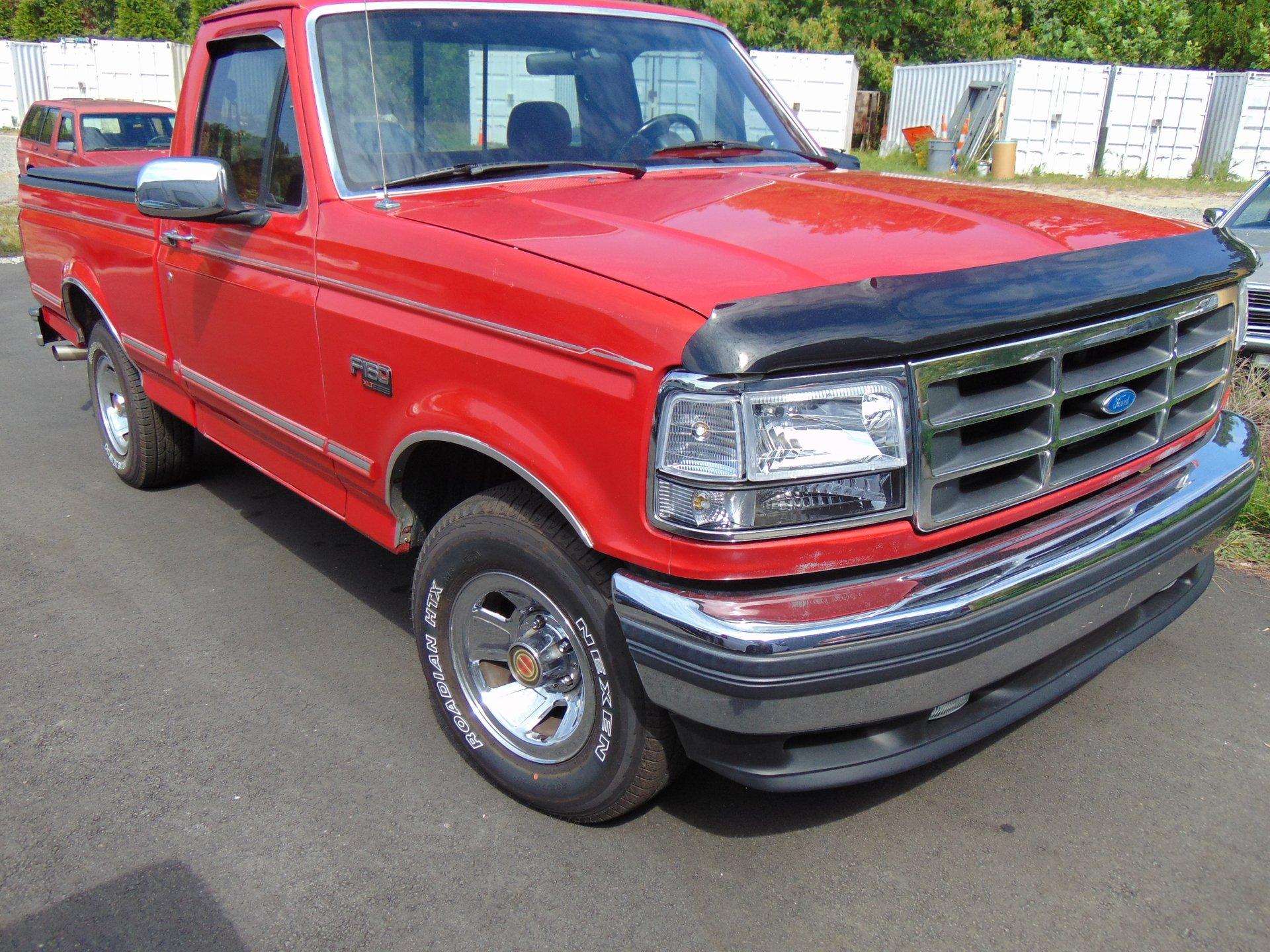 1992 ford f150 xlt shortbed pickup