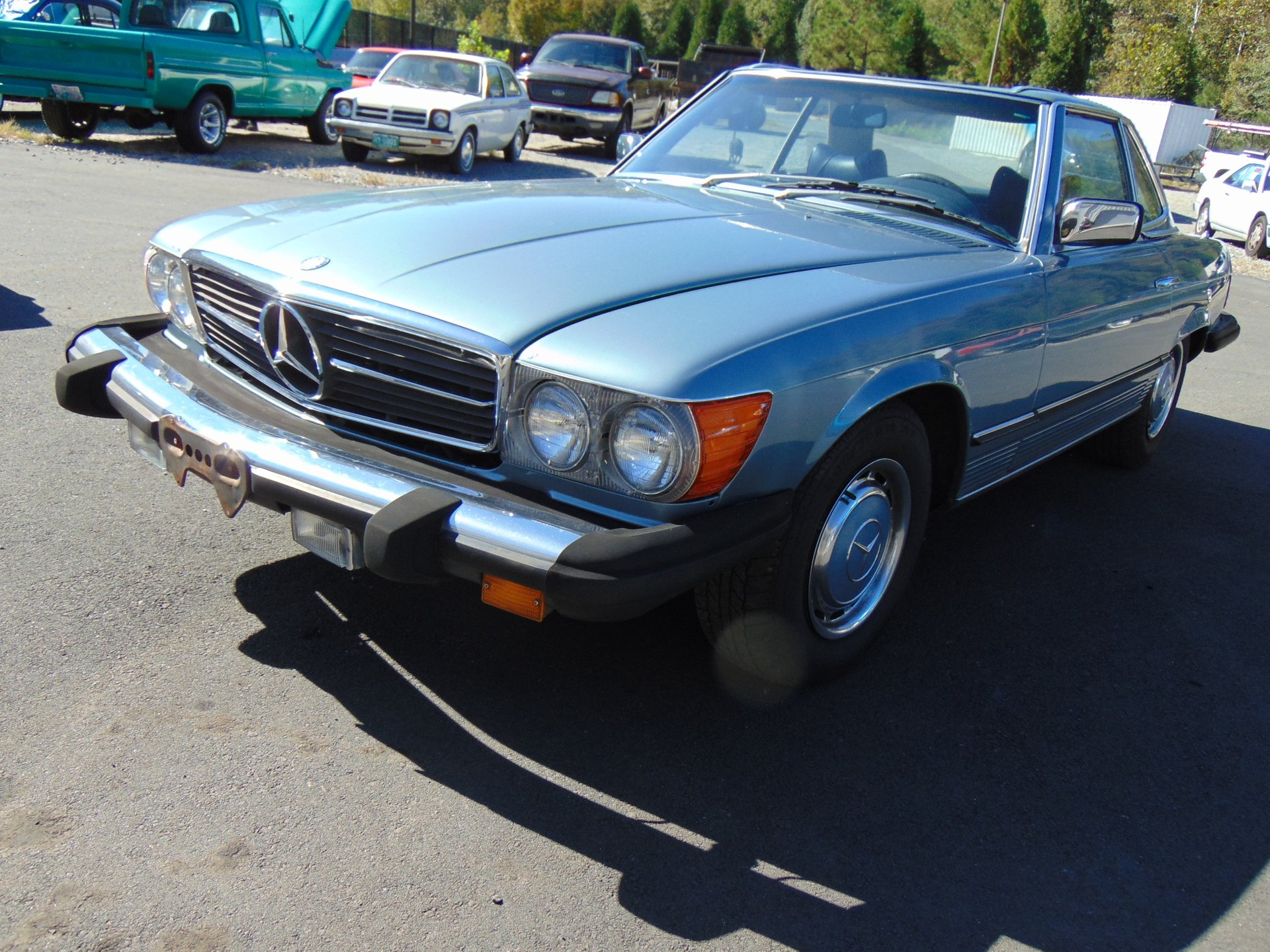 1977 mercedes benz 450 sl convertible