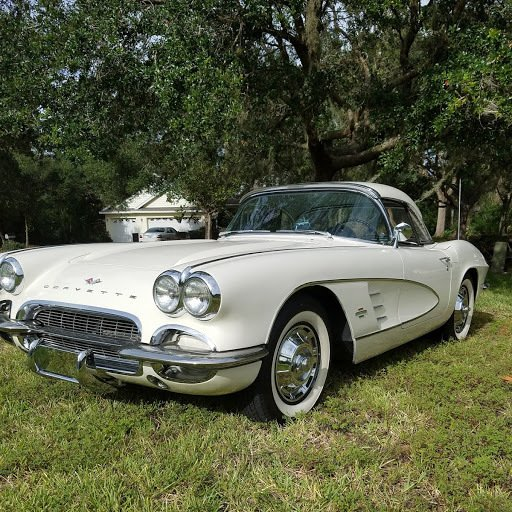 1961 chevrolet corvette restomod convertible