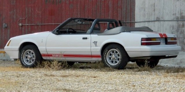1985 ford mustang predator convertible
