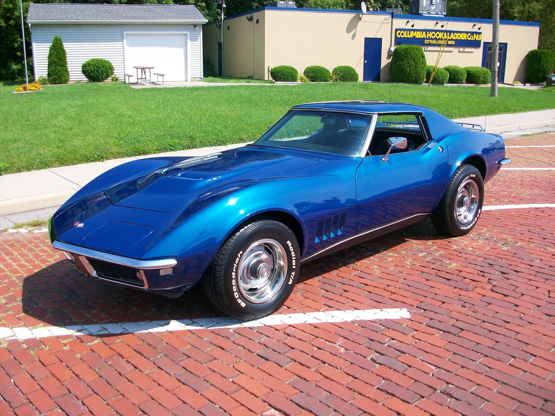 1968 chevrolet corvette t top coupe