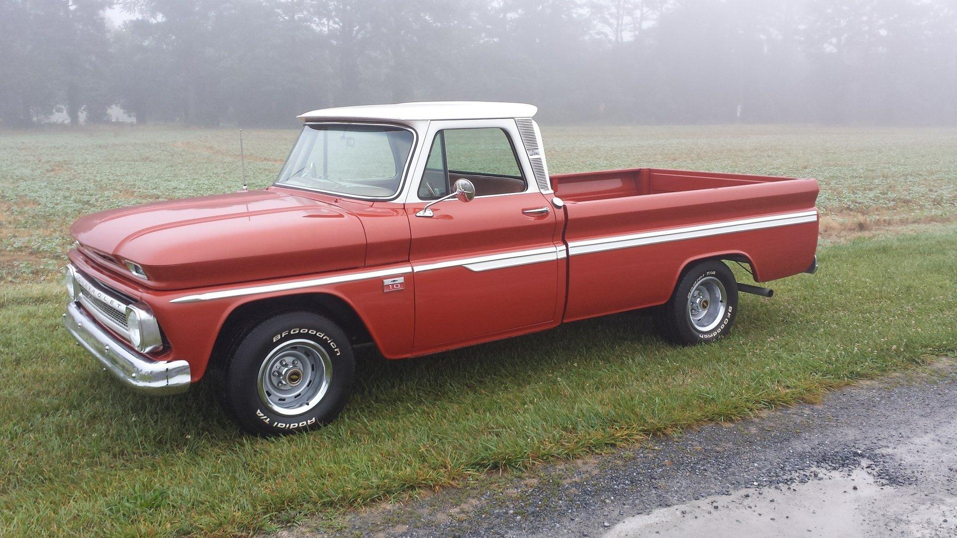 1966 chevrolet c10 1 2 ton pickup