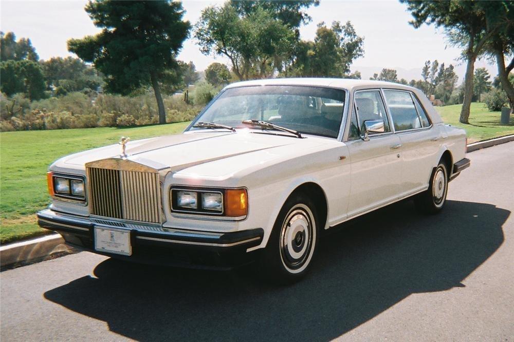 1988 rolls royce silver spur sedan