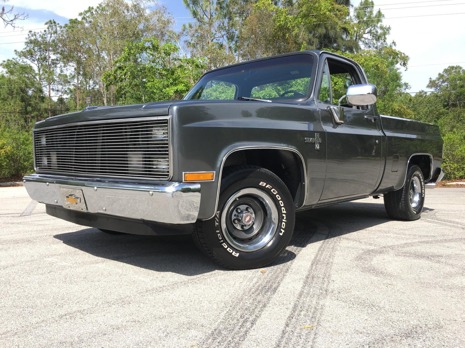 1983 chevrolet c10 silverado pickup