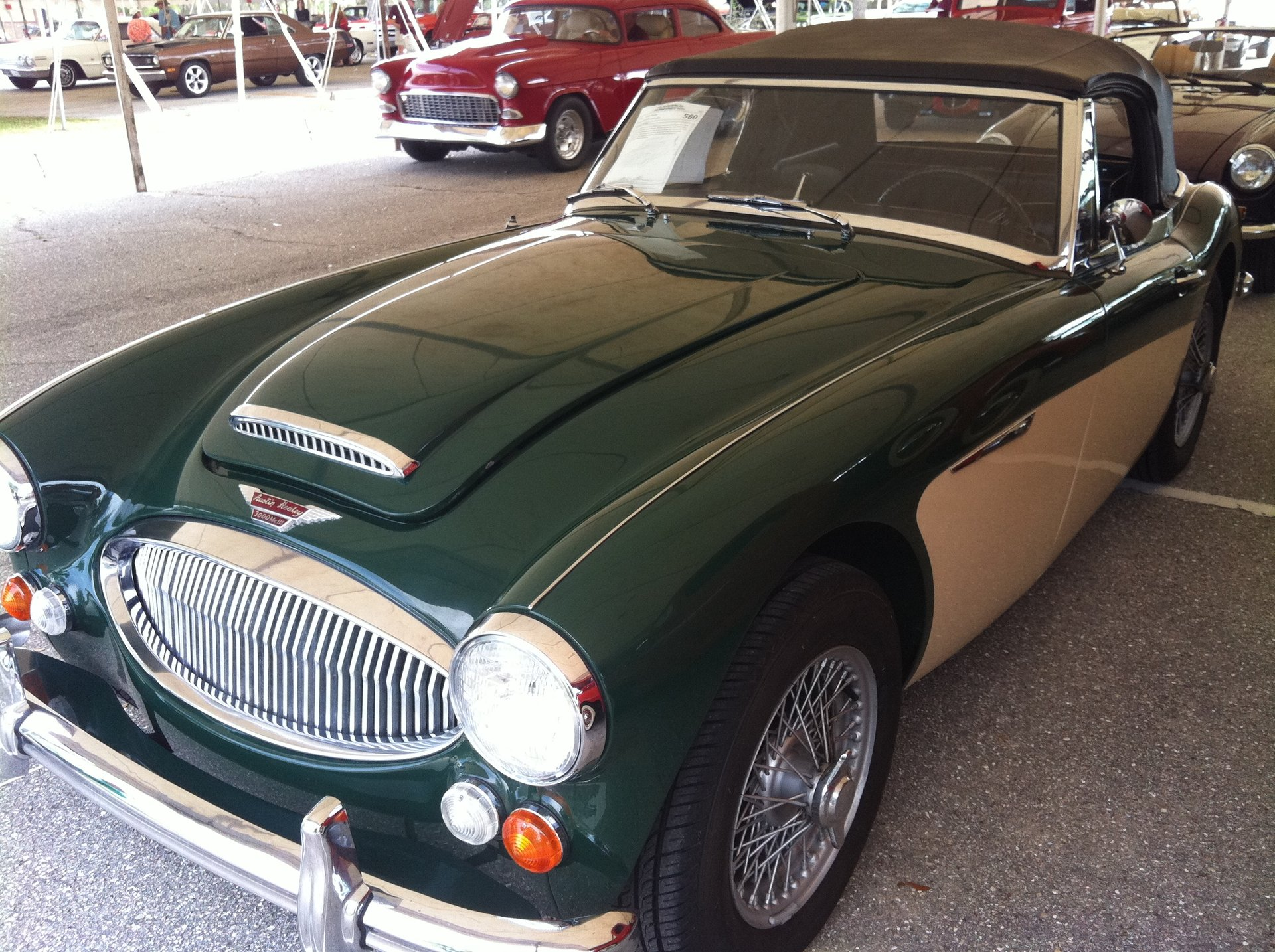 1966 austin healey bj8 roadster