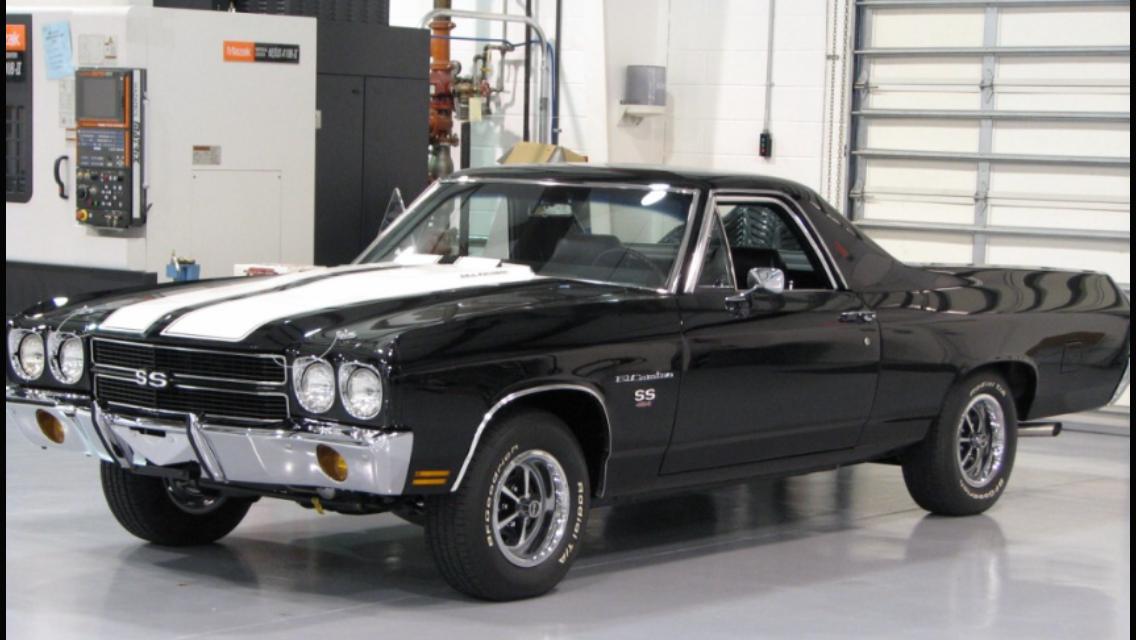 1970 chevrolet el camino 454 pickup