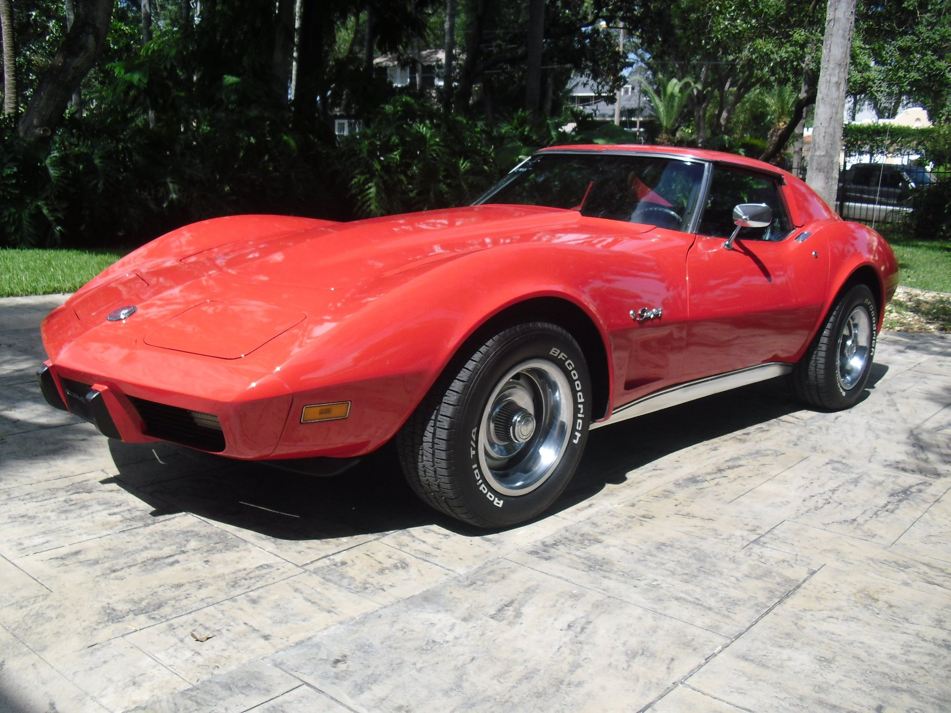 1975 chevrolet corvette t top coupe
