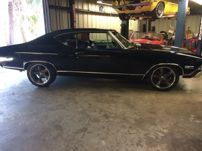1968 chevrolet chevelle ss coupe