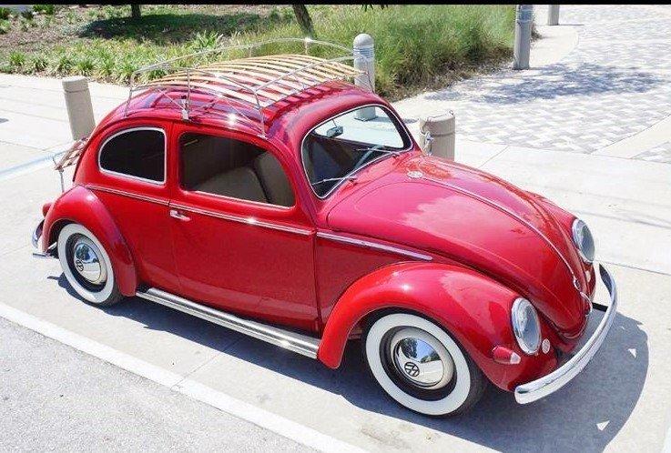 1955 volkswagen beetle coupe