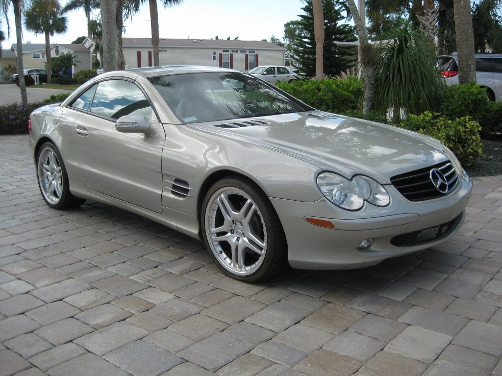 2003 mercedes benz sl500 roadster