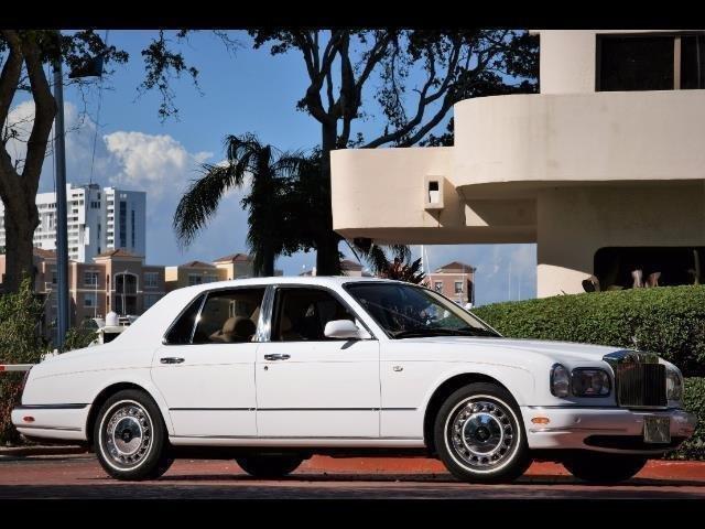 2000 rolls royce silver seraph sedan