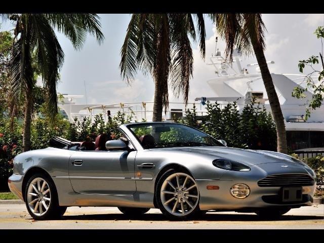 2000 aston martin db7 vantage volante convertible
