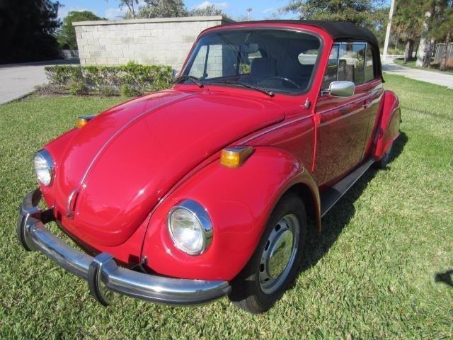 1973 volkswagen beetle convertible