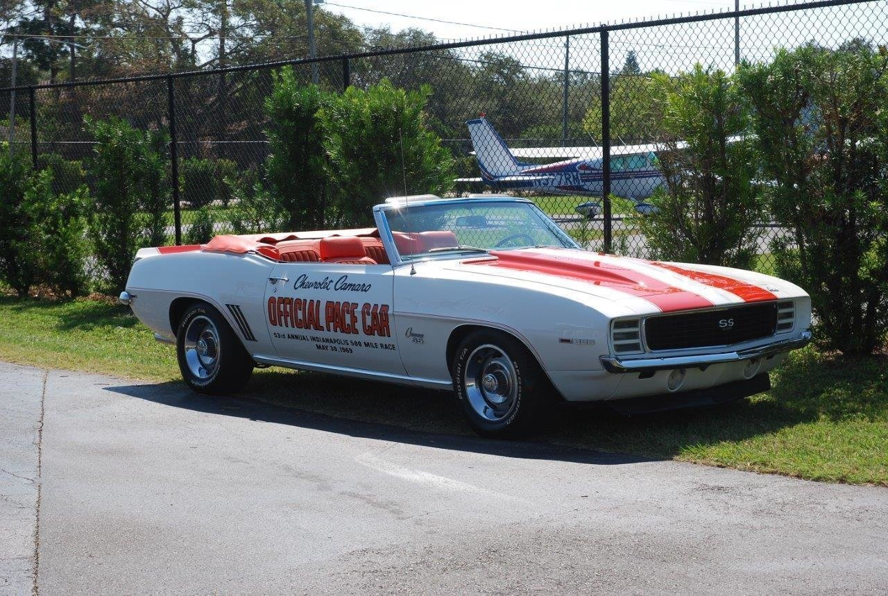 1969 chevrolet camaro rs ss pace car convertible