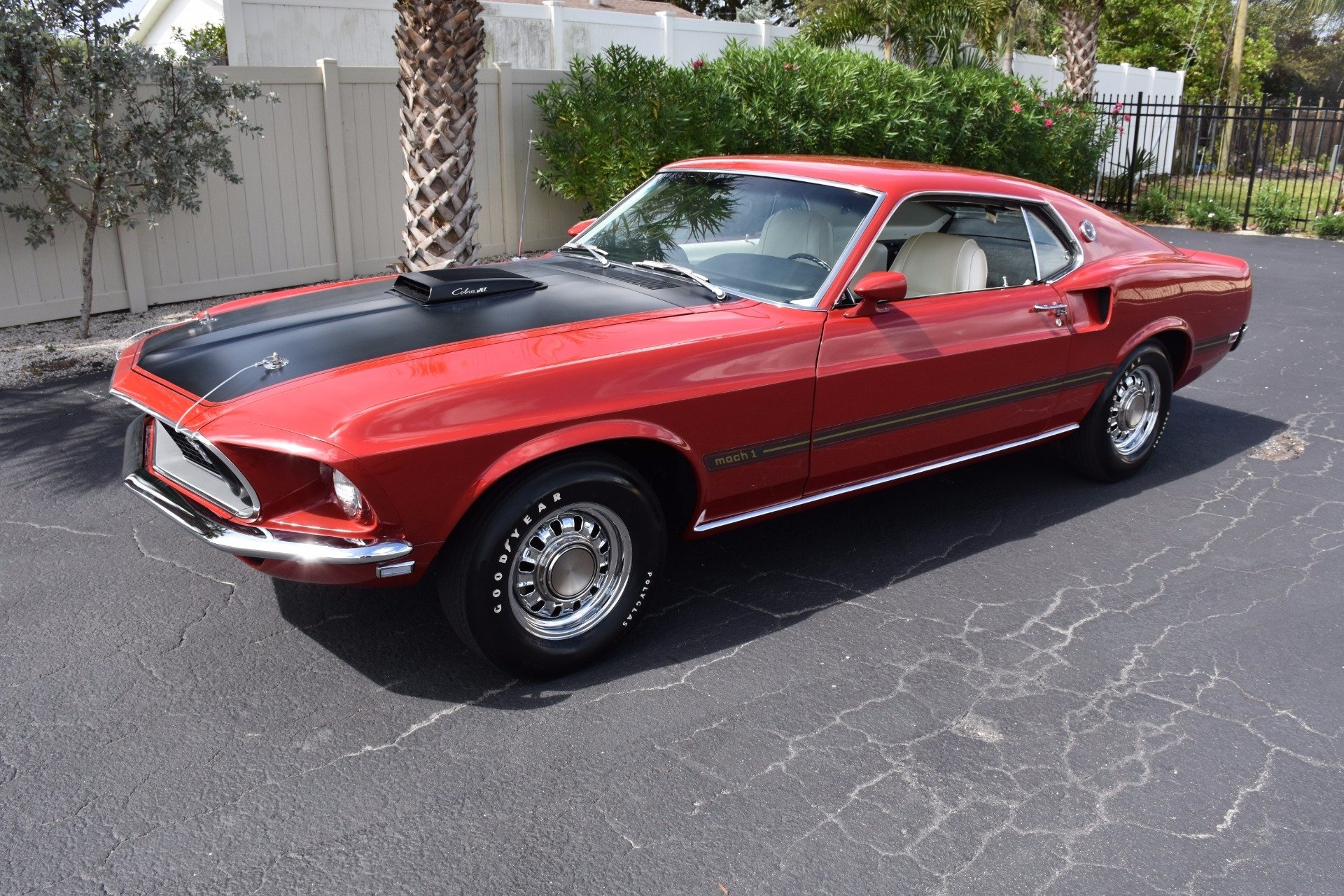 1969 ford mustang mach i fastback