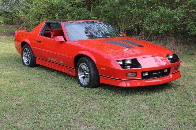 1987 chevrolet camaro iroc z28 coupe
