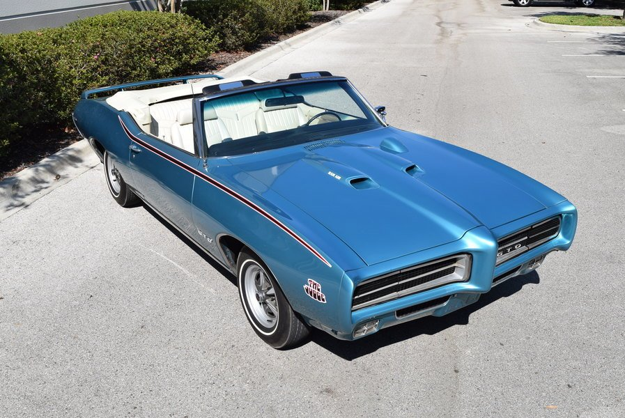 1969 pontiac lemans gto judge convertible tribute