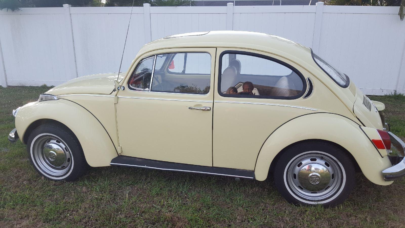 1971 volkswagen beetle coupe
