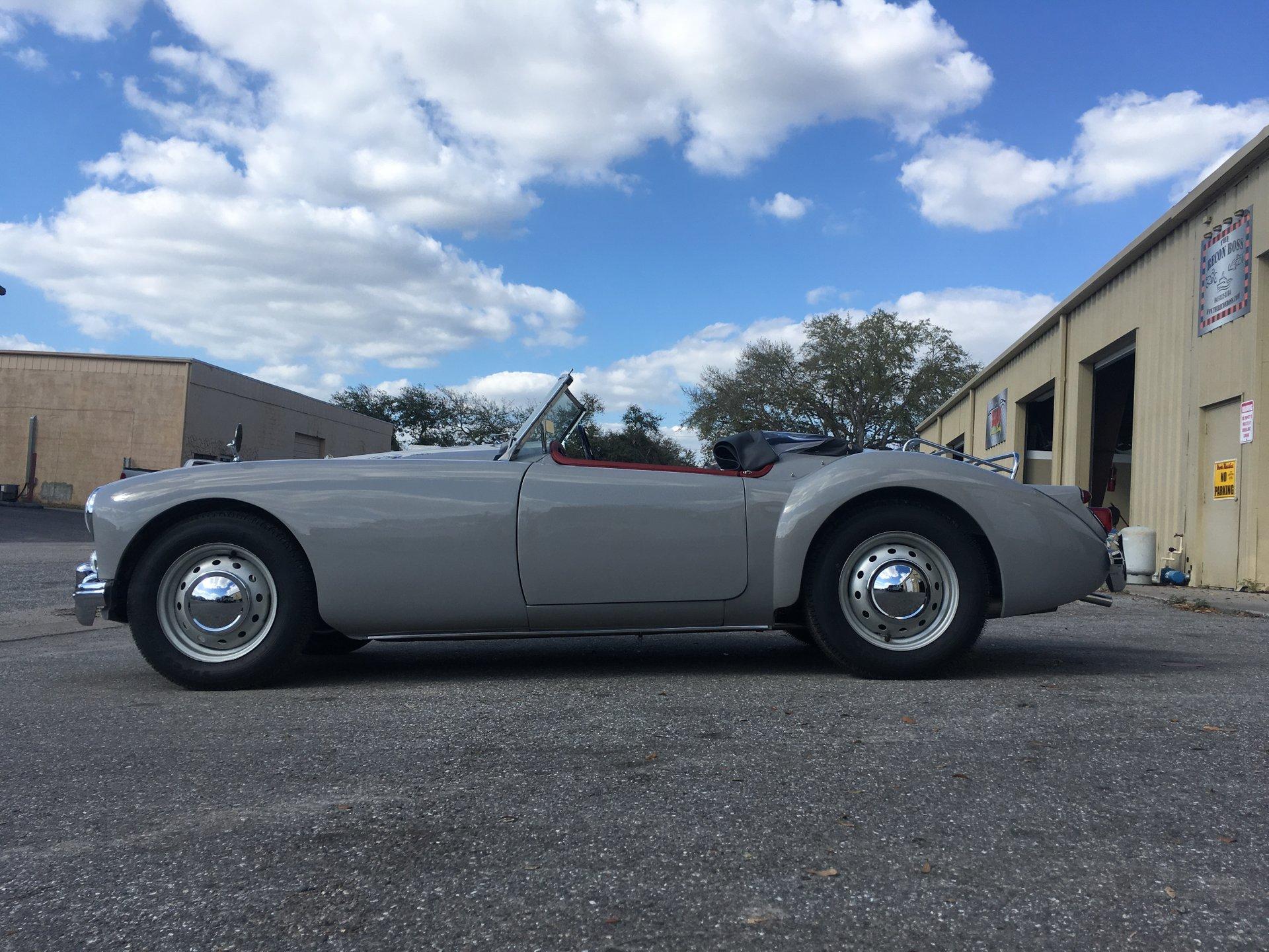 1960 mg mga 1600 convertible