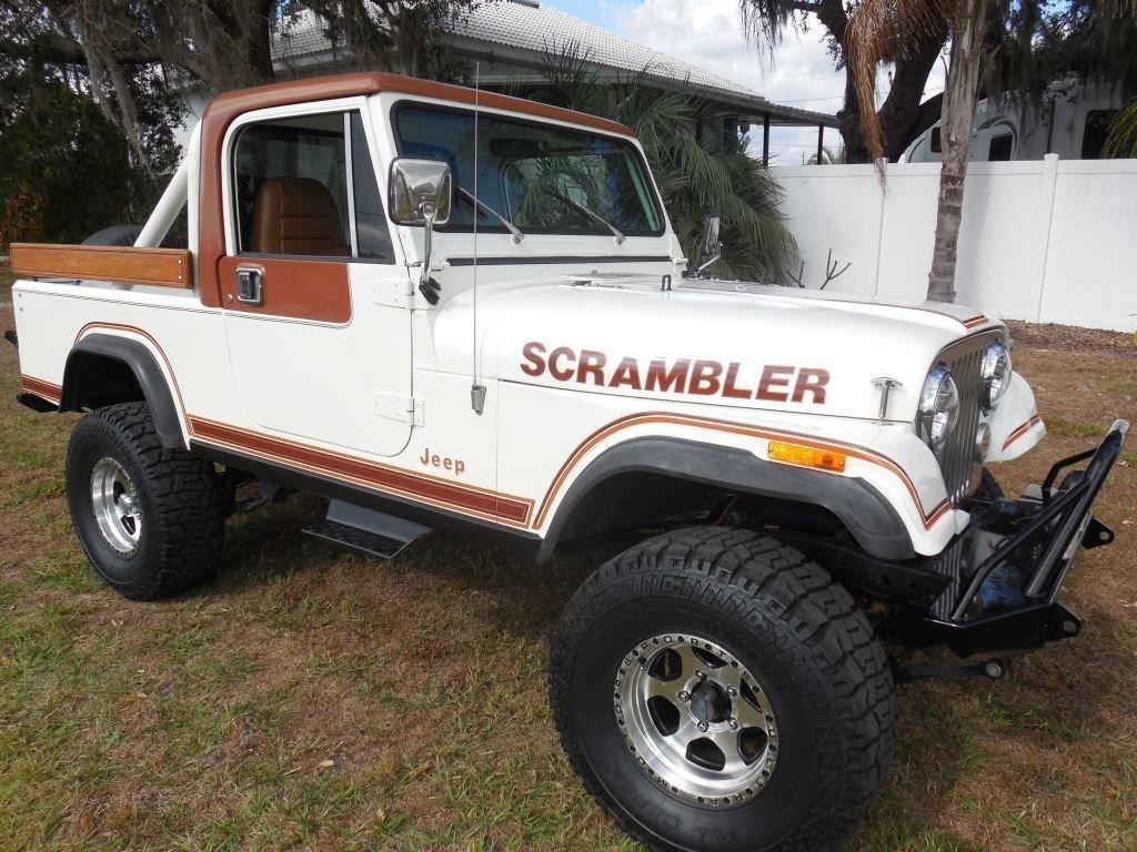 1981 american jeep cj 8 scrambler