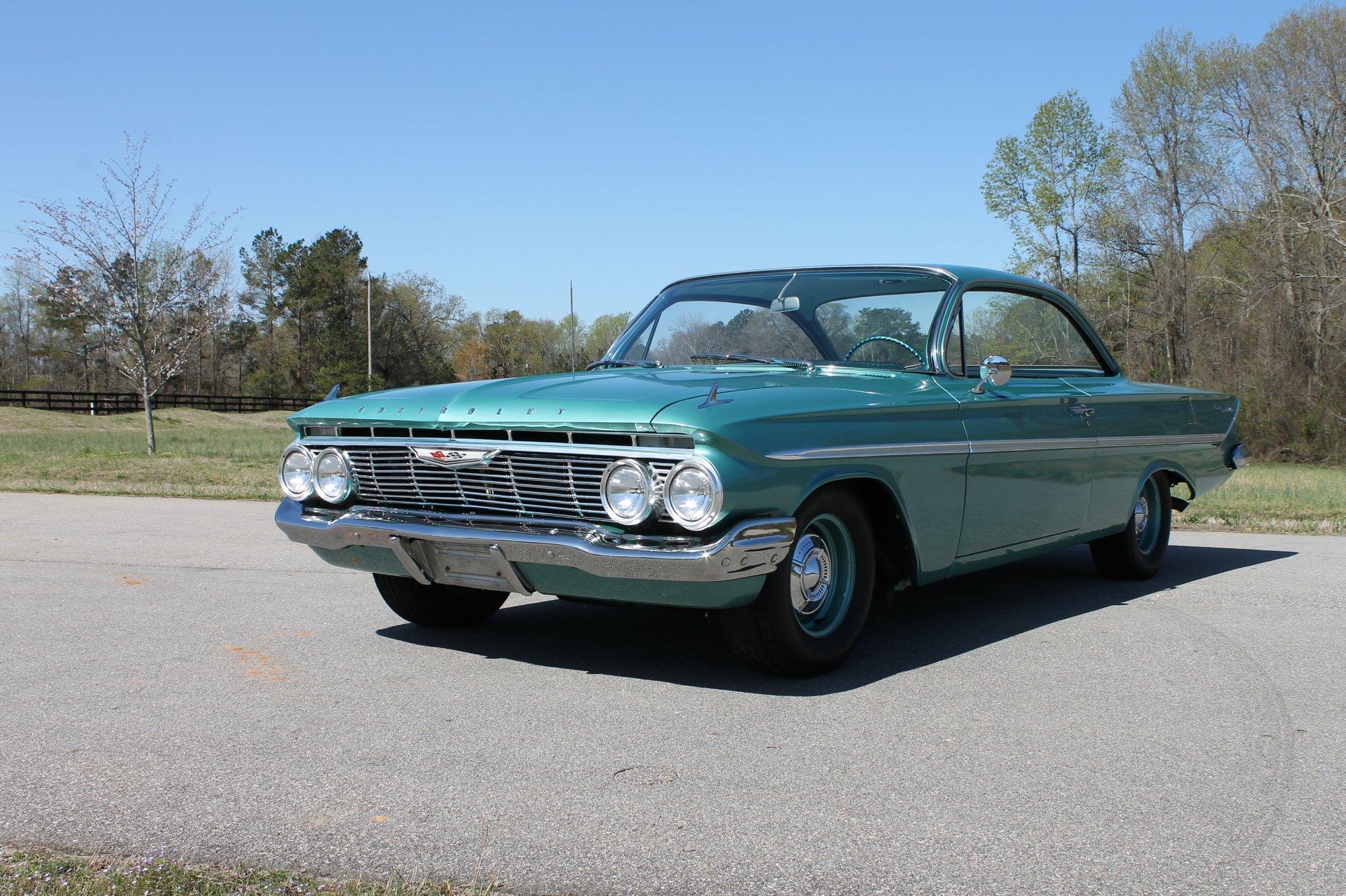 1961 chevrolet bel air 409 hardtop