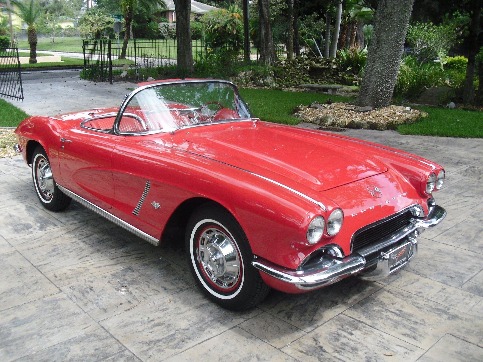 1962 chevrolet corvette convertible